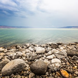 The sea of galilee - nice place for backpacking in israel